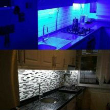 Mutfak Şerit Led montajı Üsküdar Elektrikçi